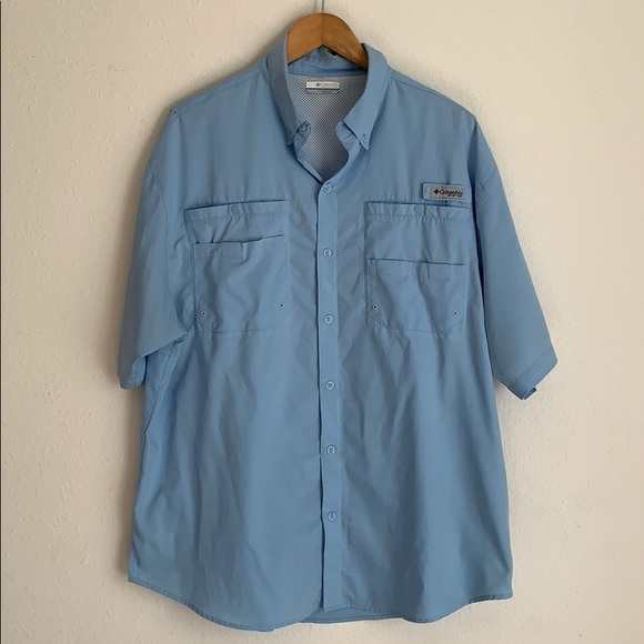 Columbia Other - Columbia Performance fishing gear button down top